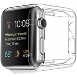Apple Watch Case, Fivefish Exact Fit Smooth Apple Watch All-around Protective 0.3mm ultra-thin Case for iWatch All Models 2015 (Apple Watch Case 38mm)