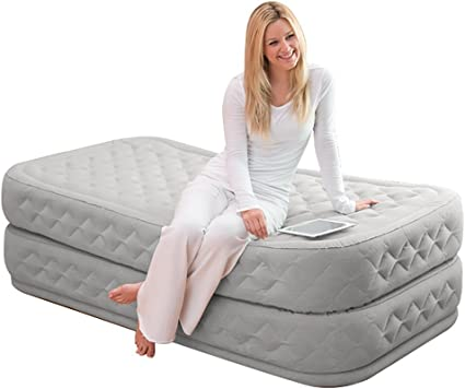 Amazon.com: Intex Supreme air-flow – Cama hinchable con ...