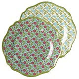 Gifts Flowers Food Best Deals - Grasslands Road Melamine Spring Meadow Lunch Plate Assortment, 8-1/5-Inch, Set of 6