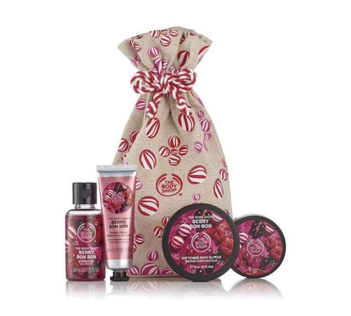 The Body Shop Festive Sac de Berry Bon Bon Délices THE BODY SHOP SET