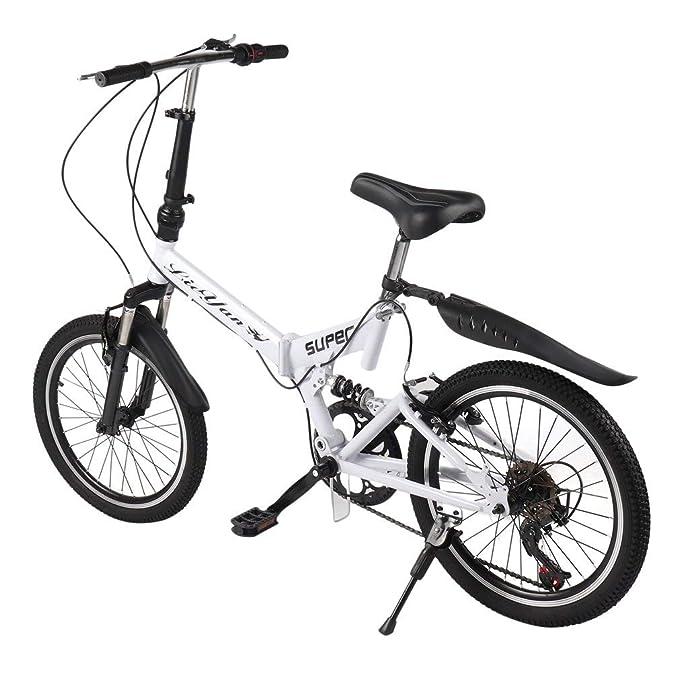 Amazon.com: OUTAD Bicicleta Plegable, 20.0 in Hombres y ...