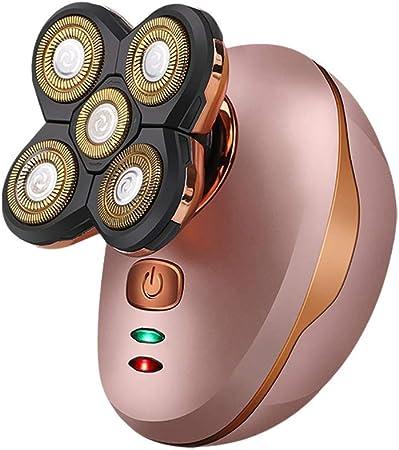 Afeitadora eléctrica de Cabeza de Afeitar para Hombres calvos Kit ...