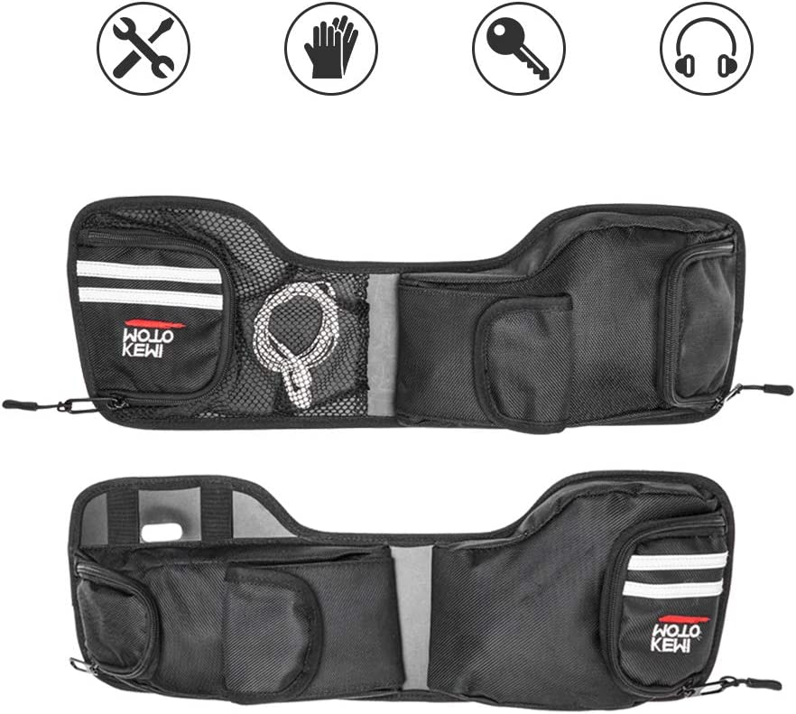1 Pairs for Street Glide Road King Road Glide Electra Glide 1993-2013 Touring Models Saddlebag Lid Organizers