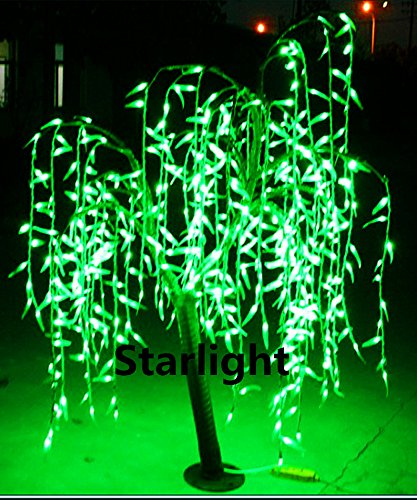 Outdoor Lighted Willow Tree in US - 2
