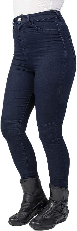 Short Bleu Bull-It Jean Moto Femme Fury Sp120 Lite Jegging Eu 34 // Us 2, Bleu