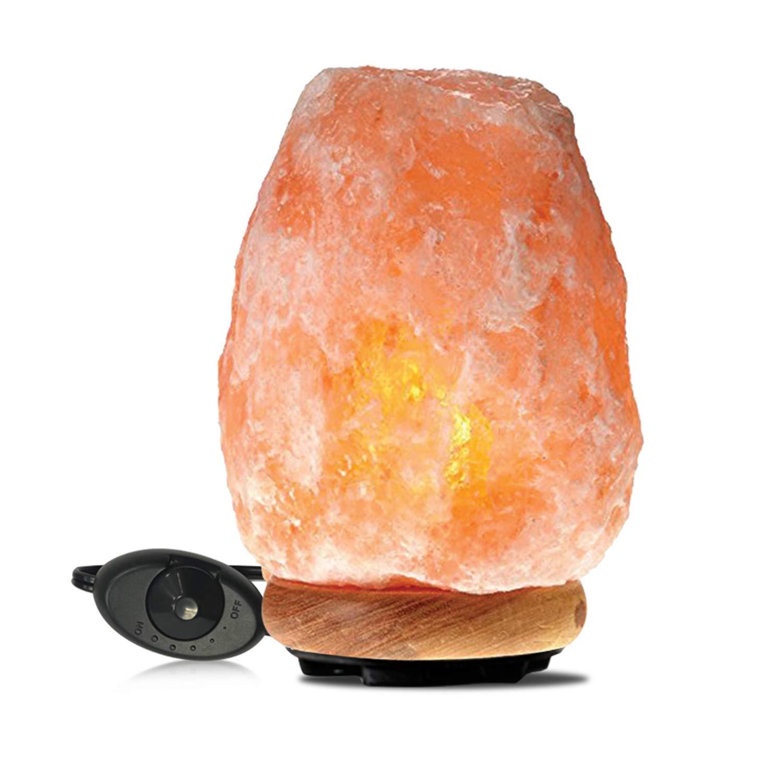 Himalayan Glow 1002 Pink Crystal Salt Lamp Salt Lamp (8-11 lbs) Salt Lamp (8-11 lbs) by Himalayan Glow (Image #2)