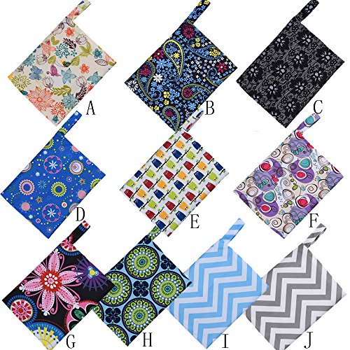 Little Story Reusable Washable Wet Bag for Sanitary Pad Menstrual Sanitary Aunt Bag A by Little Story (Image #5)