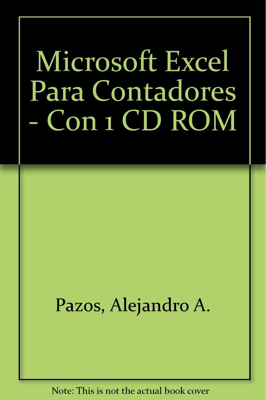 Microsoft Excel Para Contadores - Con 1 CD ROM (Spanish Edition) pdf