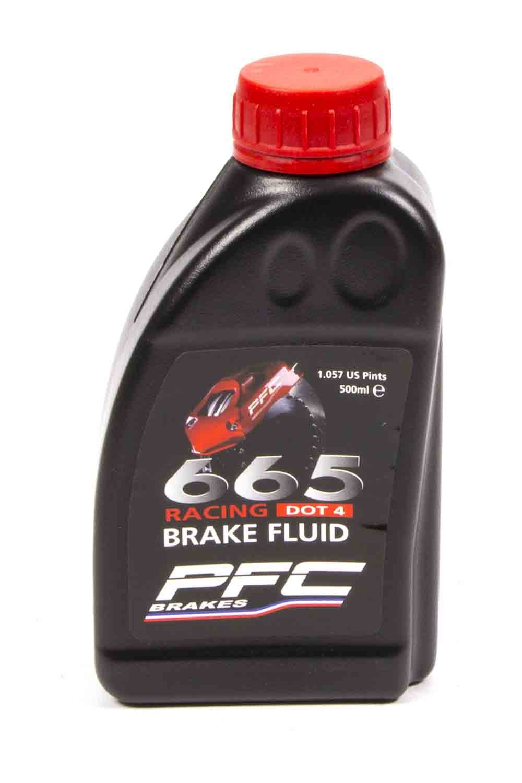 Performance Friction 25-0037 Brake Fluid RH665 -DOT 4 500 ml