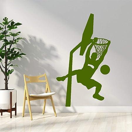 Murales de vinilo papel pintado hermoso Dunk baloncesto ...