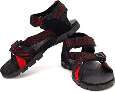 Black and Red Sandals (SS-105
