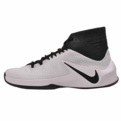 Nike Mens Zoom Clear Out TB, Black / Black - White, 9.5 M US