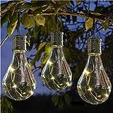7-Farben LED Solarleuchte Gartenleuchte Kugelleuchte für Garten Hof Gehweg