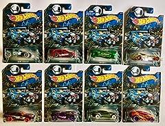 2016 Happy Halloween Complete Set of Hot Wheels Vehicles (8 Cars in Total) Set of 8 includes the following cars: Bone Shaker, Audacious, Deora II, Diesel Boy, BLVD. Bruiser, 16 Angels, Ryura LX Vandetta