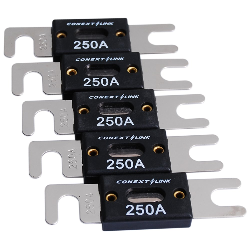 Conext Link ANL250-5 Nickel 250 Amp ANL Fuse 5 Pack