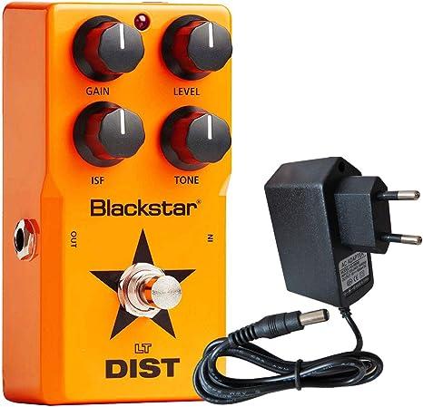 Black Star de LT Dist – Pedal de efecto para guitarra Keepdrum 9 V ...
