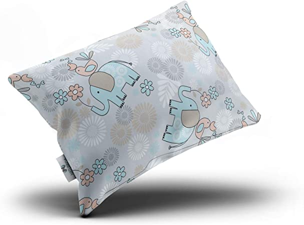 NATURECA Toddler Pillow with Toddler Pillowcase, Infant