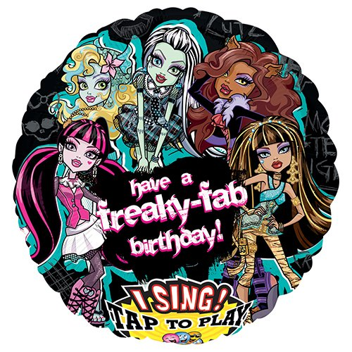 Monster High Freaky Fab Birthday Sing-A-Tune 28
