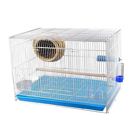 GL-birdcage Jaula de pájaros de Metal para Loros pequeños Pinzones ...