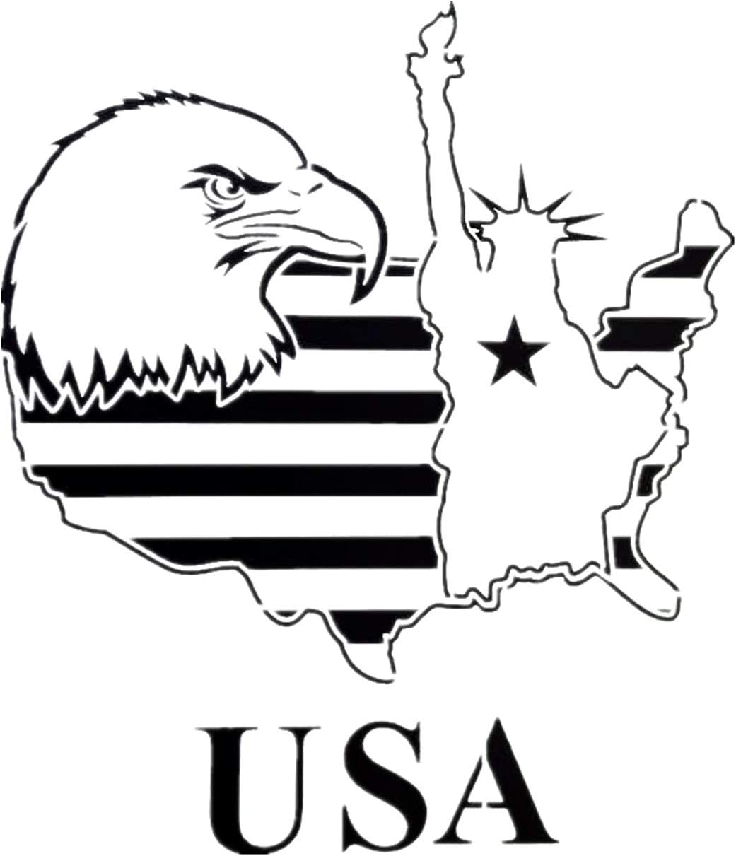 Statue Of Liberty Stencil//Template Reusable 10 mil Mylar