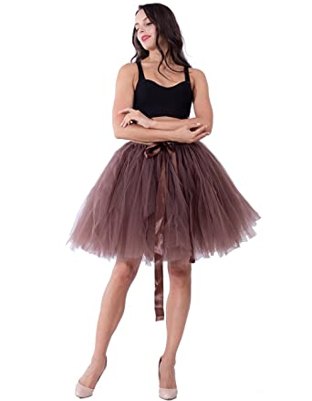 Vielzahl von Designs und Farben super service günstigster Preis Babyonline Tüllrock Damen Tütü Petticoat Retro-Faltenrock
