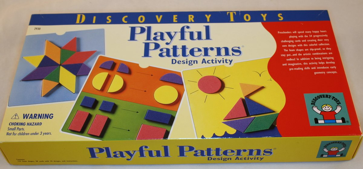 Discovery Toys PLAYFUL PATTERNS DESIGN ACTIVITY