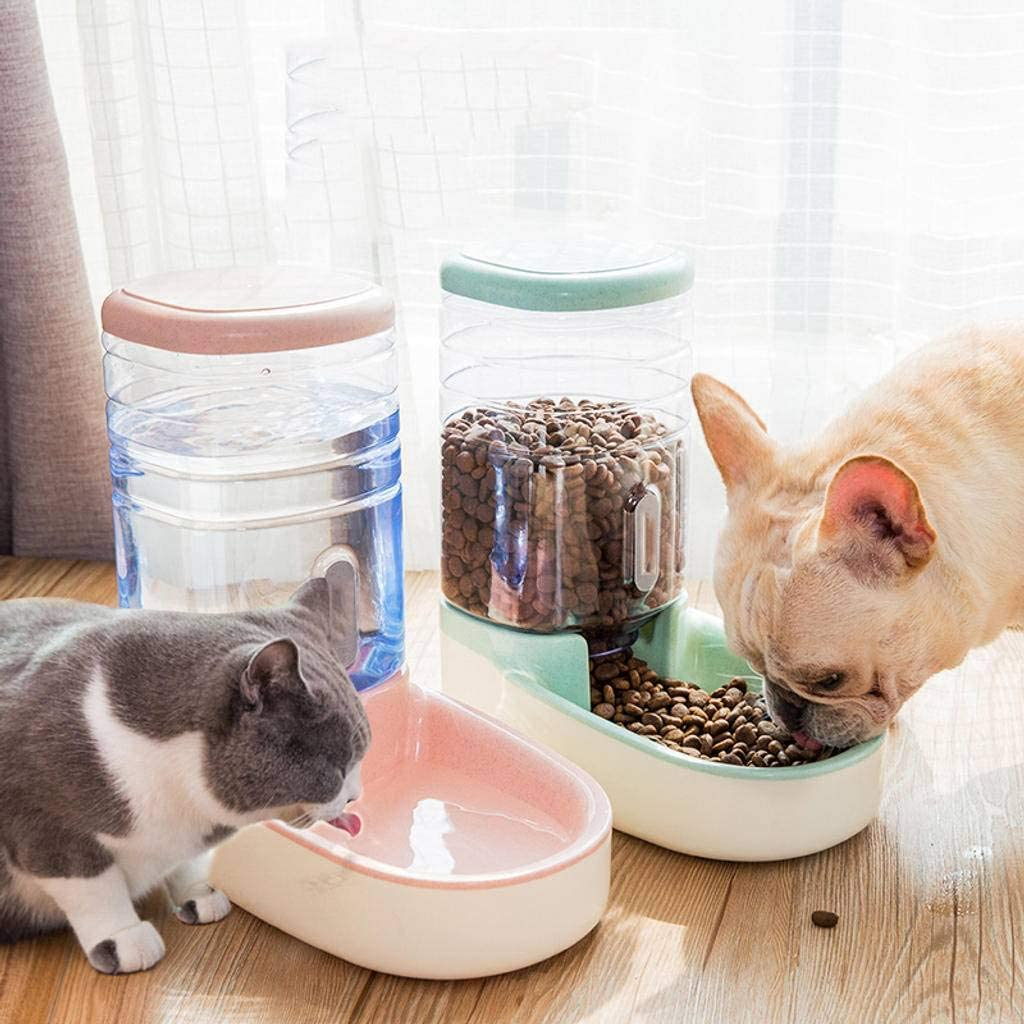 HOCOL Dispensador De Agua del Alimentador De Mascotas De Gravedad Pequeña, Alimentador De Bebederos para Mascotas, Fuente De Tazón De Agua para Gatos Automática-re: Amazon.es: Productos para mascotas