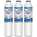Icepure DA2900020B Refrigerator Water Filter Compatible with Samsung DA2900020B, DA2900020A,HAF-CIN EXP,469101(3 PACK)