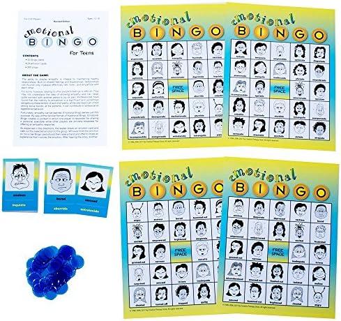 Bingo Emocional para Adolescentes: Amazon.es: Juguetes y juegos