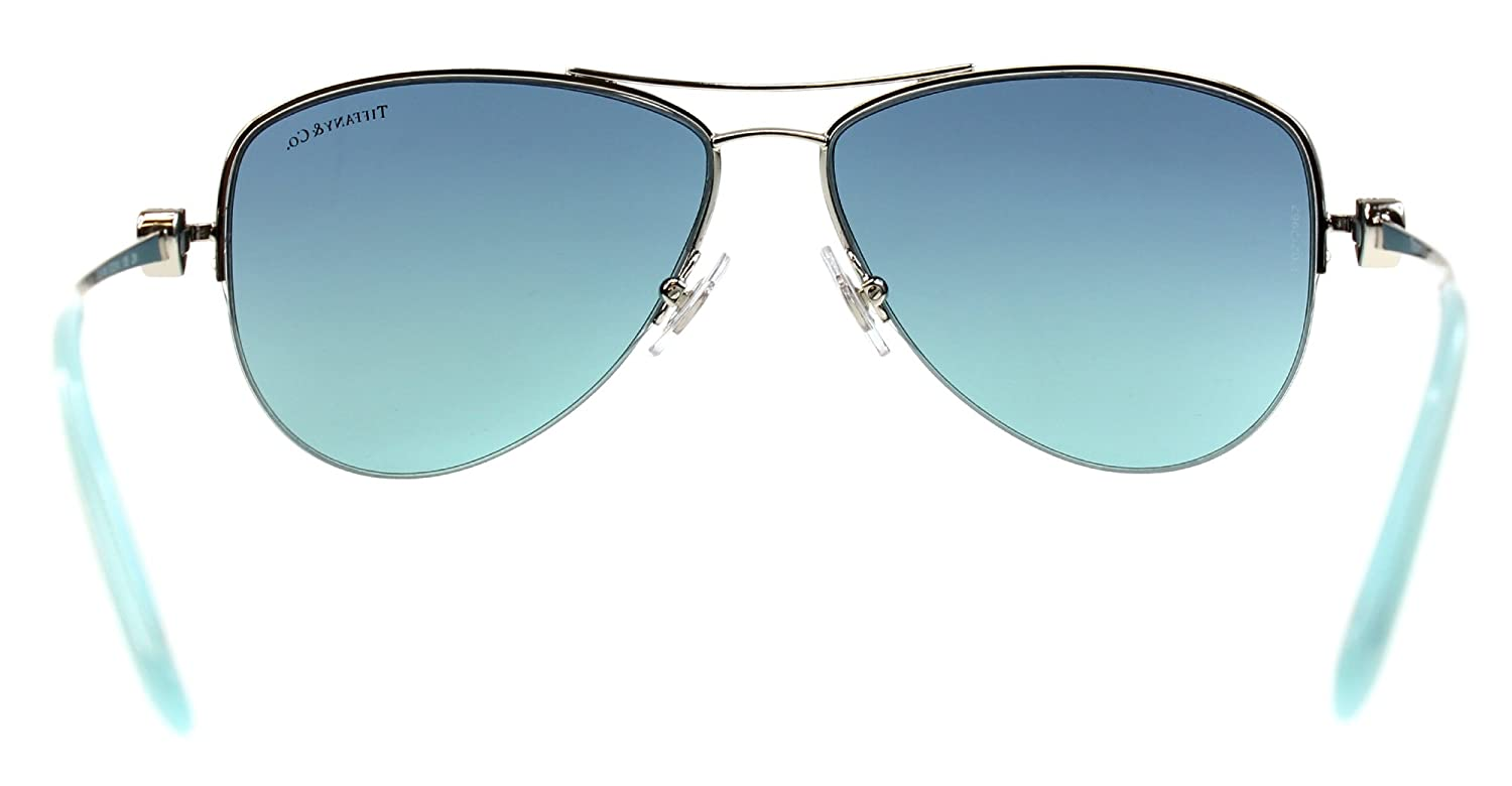 9d4af487cab Amazon.com  Sunglasses Tiffany TF 3021 60029S SILVER  Clothing