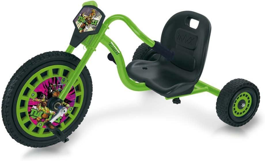 Hauck T92040 Ninja Trike Tricycle Chopper Tmnt Teenage Mutant Ninja Turtles Green Black Spielzeug