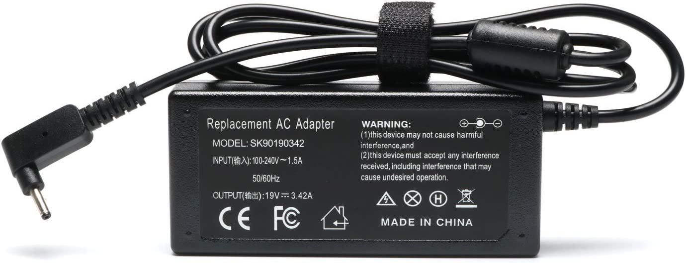 19V 3.42A AC Laptop Power Adapter Charger for Acer Chromebook 11 13 14 15 R11 CB3 Series CB3-111 CB3-532-C47C CB3-431 CB3-431-C5FM CB3-131 CB3-111-C8UB CB3-131-C3SZ CB3-532 CB3-111-C670