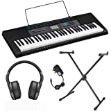 Casio CTK-2550 Beginners Keyboard Pack with AC Adapter, Free Online Lessons, Stand and Headphones