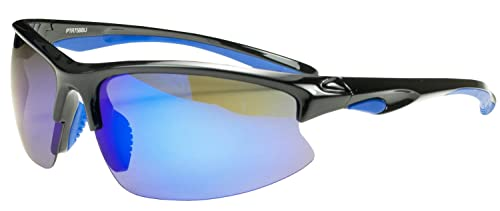 Polarized PTR75 Sunglasses Superlight Unbreakable for Running, Cycling, Fishing, Golf