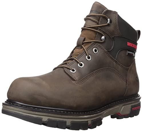 b71adae89cd Wolverine Men's Nation 6 Inch Waterproof Soft Toe Work Shoe