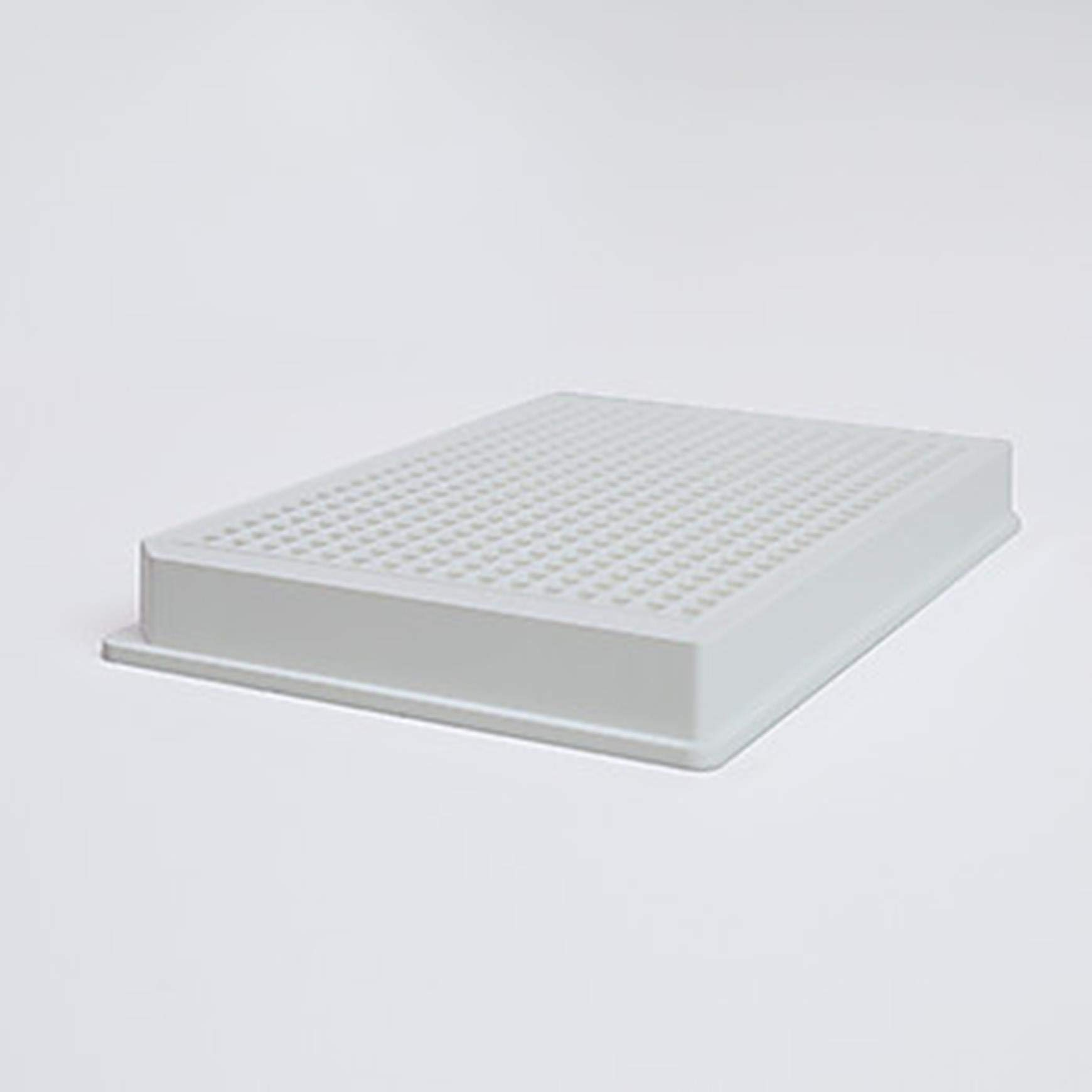 Corning 3765 384 Well Flat Clear Bottom White Polystyrene TC-Treated Microplate with Lid, Sterile (Pack of 100) by Corning