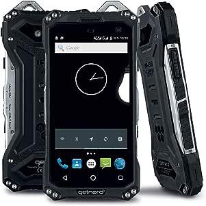 Smartphone Getnord Onyx IP68 MIL-STD-810G de Metal Reforzado 3+32 GB (RRP EUR 299): Amazon.es: Electrónica