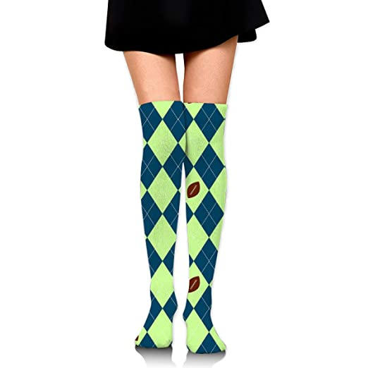 innovative design buying new cheap for sale Amazon.com: Knee High Socks Seahawks Seattle Football Argyle ...