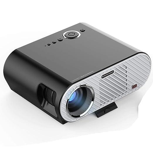KBKG821 Proyector portátil, Soporte de proyector LED 1080P ...