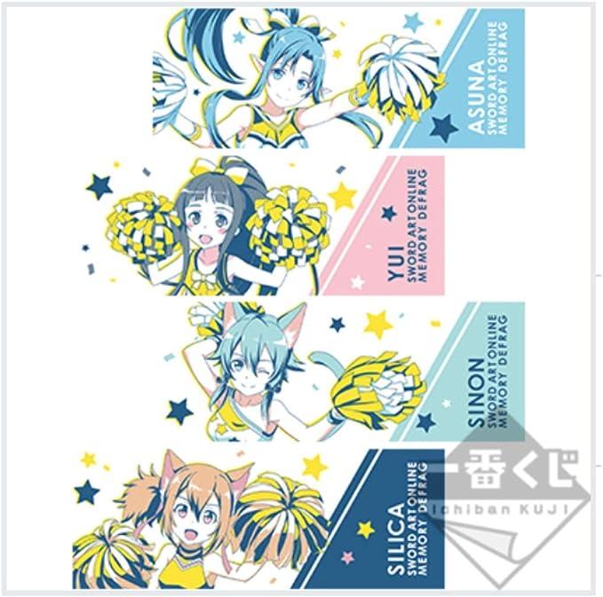 SAO Sword Art Online Ichiban Kuji F Award rubber strap 13 set asuna sinon JAPAN