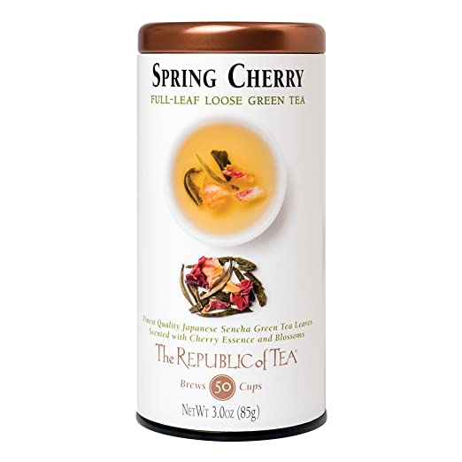 The Republic Of Tea Spring Cherry, 3.0 Ounces/50-60 Cups