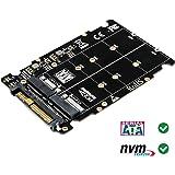 Timack M.2 NVME SSD(Key M) Key B SSD to U.2 SFF-8639 Adapter(Not SATA Interface)