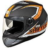 Studds Shifter D1 N5 Series Full Face Helmet ( Matt Black )
