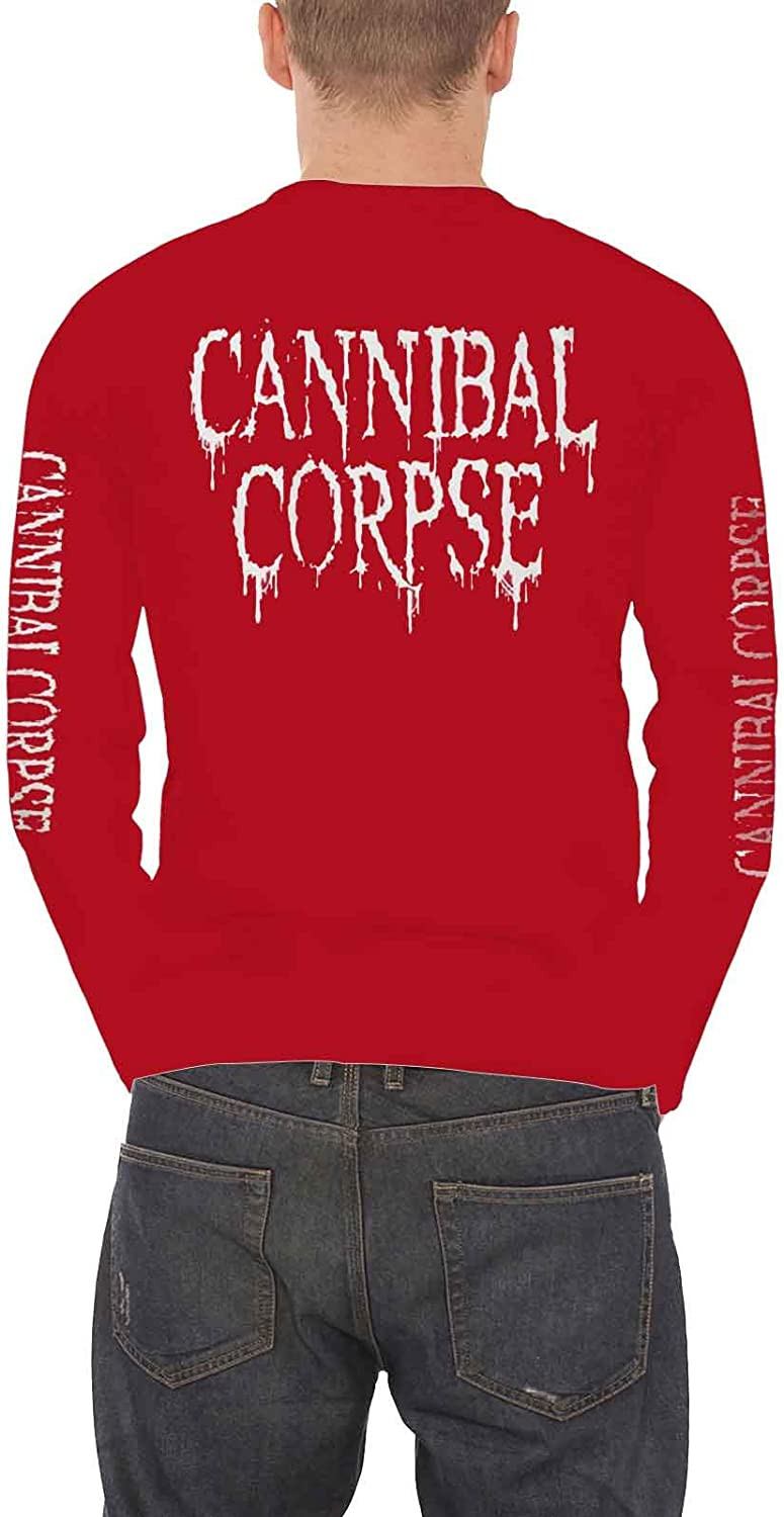 Cannibal Corpse Sweat-Shirt /À Capuche Dripping Band Logo Officiel Homme Nouveau