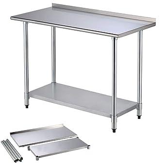 Amazon.com: Cirocco 2 niveles de acero inoxidable cocina ...
