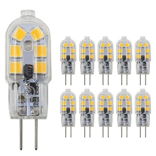 Amazon.com: JKLcom G4 Bombillas LED G4 de base bimpina de 1 ...