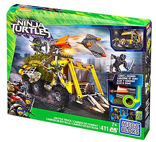 Mega Bloks Teenage Mutant Ninja Turtles Battle Truck Construction Set