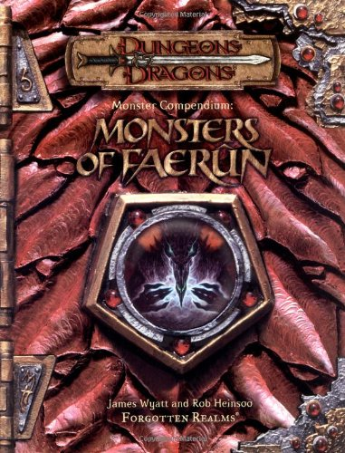 Manual Online Monster - Monster Compendium: Monsters of Faerun (Dungeon & Dragons d20 3.5 Fantasy Roleplaying)