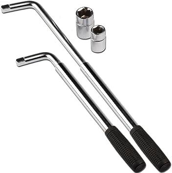 Steckschlüssel Radschlüssel Radmutterschlüssel Teleskop ausziehbar 17 19mm