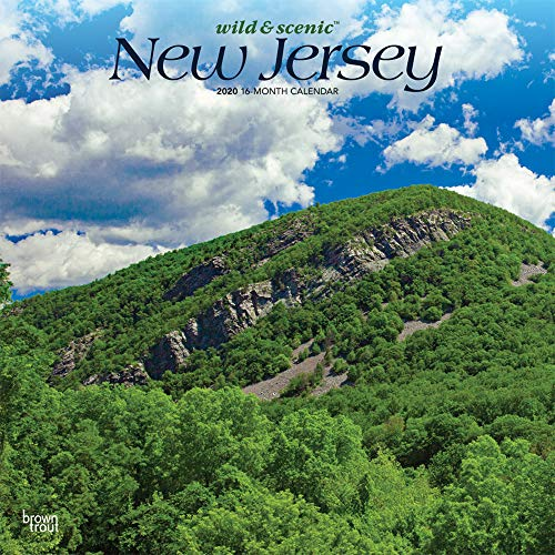 New Jersey Wild & Scenic 2020 12 x 12 Inch Monthly Square Wall Calendar, USA United States of America Northeast State Nature